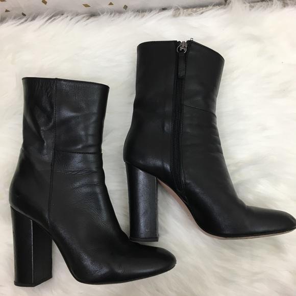 amp; Ink Heeled Shoes Poshmark Leather Iris Boots Black iris ink FIfdqF